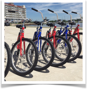 Bike Rentals St. Joe Michigan