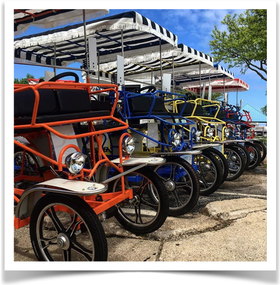 Surrey Bike Rentals St. Joe Michigan